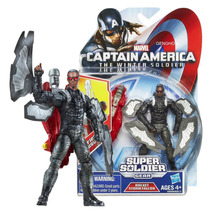 Marvel Universe Capitão América 2 Rocket Storm Falcon
