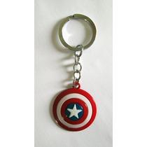 Chaveiro Escudo Capitão América Marvel Vingadores