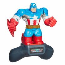 Boneco Capitão América Marvel Battle - Hasbro