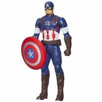 Boneco Capitão América Eletrônico Titan Hero Tech - Hasbro