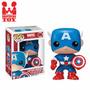 Pop! Marvel Universe Captain America Funko Pronta Entrega