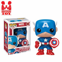 Pop! Marvel Universe Captain America Funko Pronta Entrega