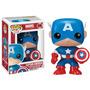 Capitão América - Marvel Universe - Bonecos Funko Pop! Novo