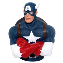 Cofre Busto Capitão América Marvel Vingadores