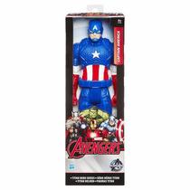 Boneco Capitão América Titan Hero Series - Avengers - Marvel