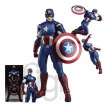 Action Figure Capitão América Avengers Vingadores Figma 226