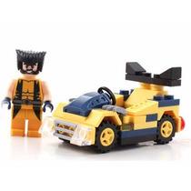 Decool Lego Wolverine Marvel + Carrinho + Manual Volverine