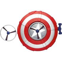 Escudo Lança Disco Capitão América - Hasbro