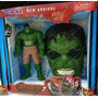 Boneco+mascara Homem Aranha Hulk Thor Batman Homem De Ferro