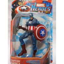 Boneco Capitão América Articulado Vingadores