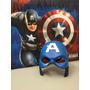 Máscara Capitão América Super Luxo