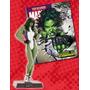 Miniatura Marvel Mulher Hulk N.º 38 - Eaglemoss Brasil