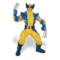 Boneco Wolverine Premium - Uniforme Amarelo Mimo 51 Cm