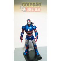 Miniatura Eaglemoss Marvel - Iron Patriot (james Rhodes)