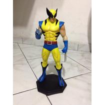 Wolverine Em Resina 32cm Maciço - 12x Sem Juros