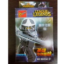 Shen Ninja Lol League Of Legends Bozhi Compatível Com Lego