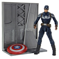 Capitão América The Winter Soldier Marvel Select Diamond