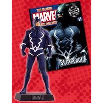 Miniatura Marvel Raio Negro - Eaglemoss