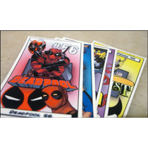 Etiquetas Adesivas Para Miniaturas Marvel Dc Eaglemoss