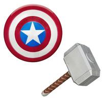 Avengers Vingadores: Escudo Capitão América + Martelo Thor