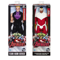 Marvel Titan Hero Series Gavião Arqueiro + Falcon