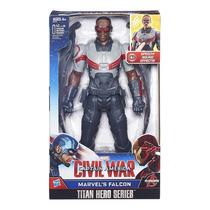 Capitão America Guerra Civil Falcão Negro Eletronico Hasbro