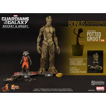 Hot Toys Guardians Of The Galaxy Rocket & Groot Guardioes