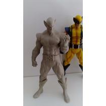 Wolverine Kit Para Pintar 24cm Resina - Marvel Wolverine