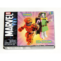 Marvel Universe Minimates - The Thing & Dr. Doom Set