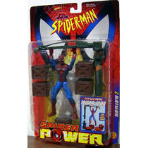Spider Man Spider Power Flip And Swing Spider Man Toy Biz