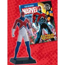 Miniatura Capt Britain Classic Marvel Figurine #21 Bonellihq