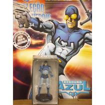 Coleção Miniaturas Dc Comics Edição 34 Besouro Azul