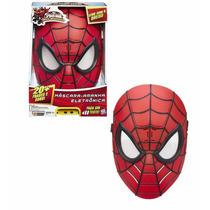 Homem Aranha Máscara Eletrônica 20 Sons Spiderman Hasbro