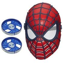 Máscara Eletrônica De Visão Homem Aranha Spider Man Hasbro