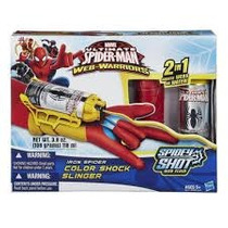 Lançador Com Luva Homem Aranha Spidey Shot Hasbro B0563