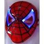 Homem Aranha - Máscara Com Luz+ 3 Boneco- Fret16