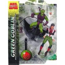 Duende Verde Com Peter Parker Marvel Select Green Goblin