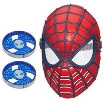Máscara De Visão Spider Man A5713 Com 2 Discos - Hasbro