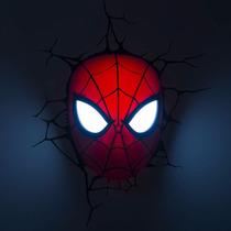 Luminária 3d Light Fx Máscara Homem Aranha Marvel