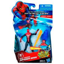 Boneco Spider-man Web Cannon Homem Ararnha Hasbro 10 Cm