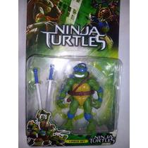 Boneco Brinquedo P Colecionador As Tartarugas Ninja Leonardo