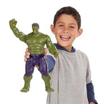 Boneco Articulável Avengers Vingadores Hulk C/ Som, Luz 30cm