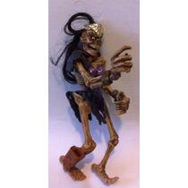 Boneco Play Mates Toys 1994 Esqueleto Brinquedo Antigo