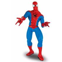Homem Aranha Vermelho 55cm Articulado Marvel Gigante