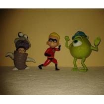 Lote Mc Donalds Brinquedos Pixar- 3 Peças