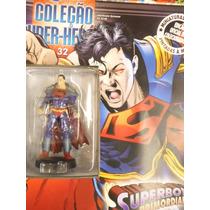 Coleção Miniaturas Dc Comics Edição 32 Superboy Primordial