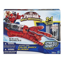 Spider Man Web Warriors Lançador Teias Com Luva - Hasbro