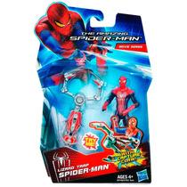 Boneco Spider-man Lizard Trap Homem Ararnha Hasbro 10 Cm