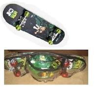 Skate Infantil Completo Ben 10 - Fret16