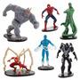 Disney Store Ultimate Homem Aranha E Inimigos Figure Playset